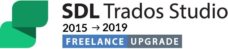 Upgrade from SDL Trados Studio 2015 Freelance to SDL Trados Studio 2019 Freelance